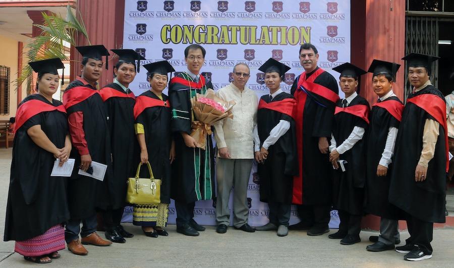 Chapman International College (CIC) Holds Yangon Campus Graduation